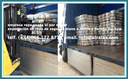 importacion exportacion ropa usada second hand clothing supplier fournisseur de vêtements d'occasion