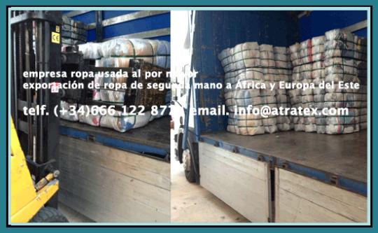 importacion exportacion ropa usada second hand clothing supplier fournisseur de vêtements d'occasion